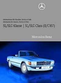Technische Informationen für Mercedes-Benz Klassiker auf DVD: Hier für den R 107 (Foto: Daimler)