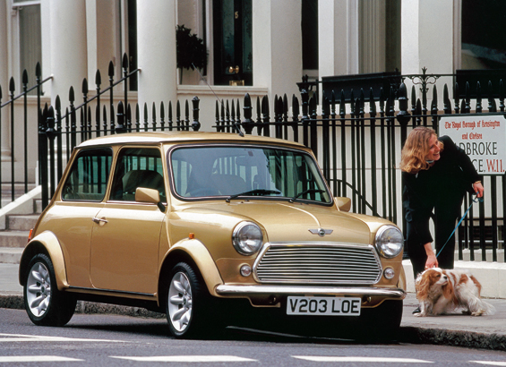 "Mini Classic ""Final Edition"": Mini Knightsbridge, 2000 (Foto: BMW Group)"