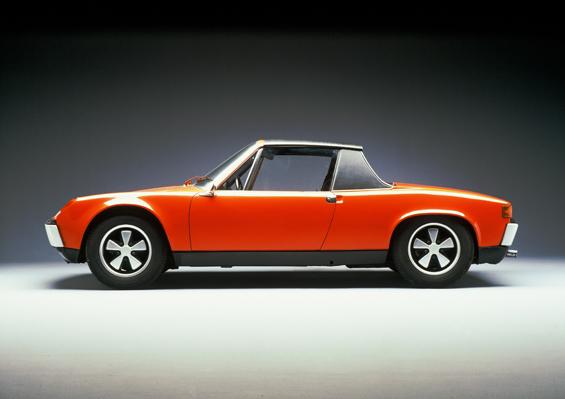 Der Porsche 914 wird 40. (Foto: Porsche)