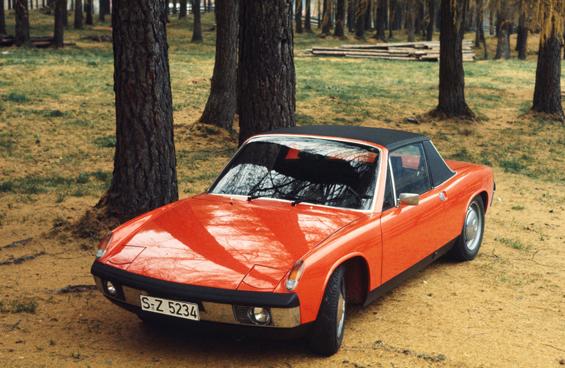 VW-Porsche 914 1.7 aus dem Jahr 1969 (Foto: Porsche)