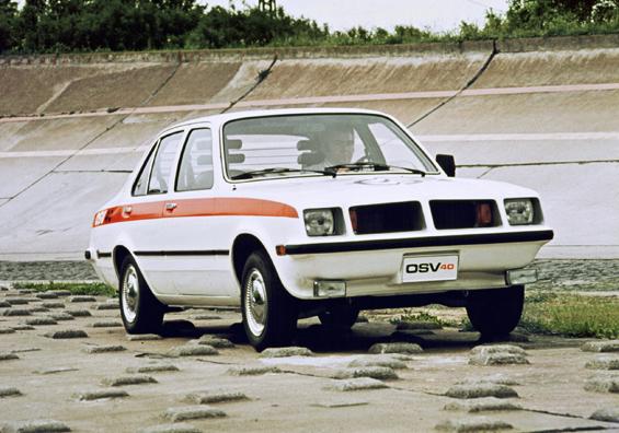 Experimentalfahrzeug OSV40 auf Basis des Kadett C (Foto: Opel)