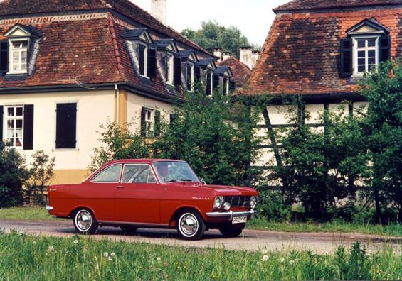 Das Opel Kadett A Coupé (Foto Opel)