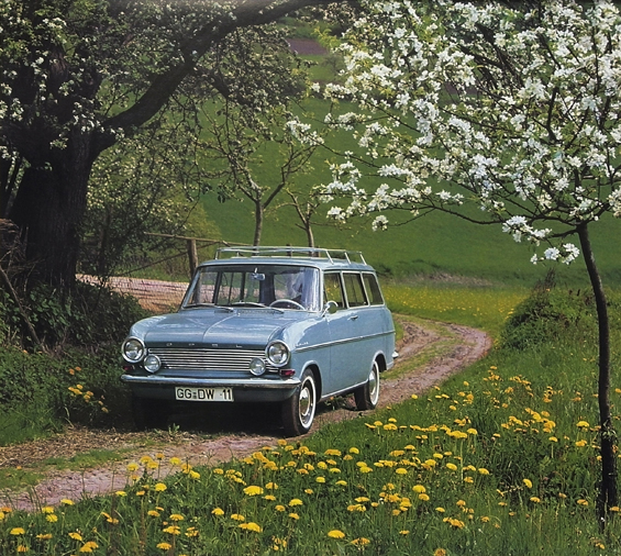 Der Opel Kadett A Caravan kommt 1963 auf den Markt (Foto: Opel)