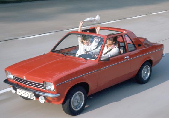 Opel Kadett C in der Aero-Ausführung (Foto: Opel)