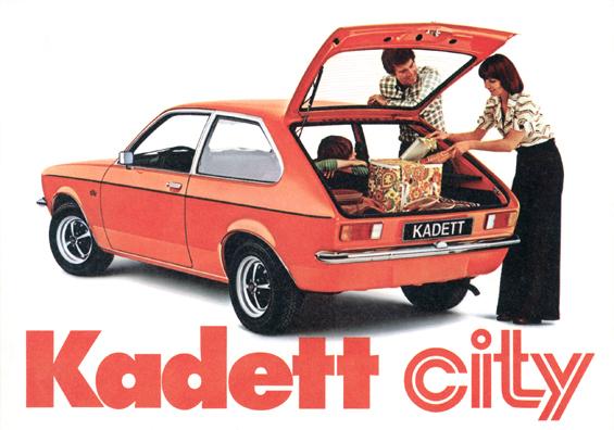 Opel Kadett City (Foto: Opel)