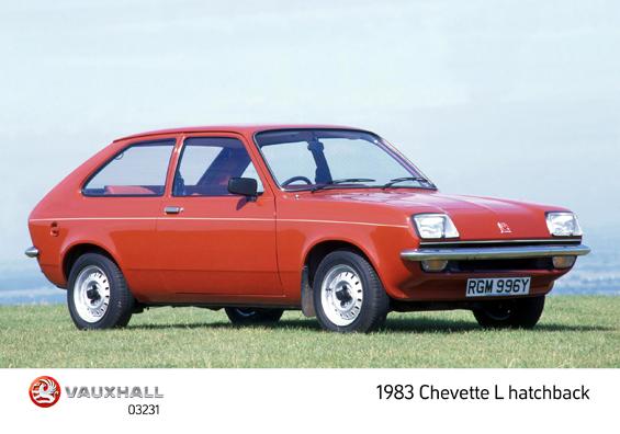Man kann jedes Auto auch verschlimmbessern: Hier die englische variante des Opel Kadett C, der Vauxhall Chevette Hatchback (Foto: Opel)