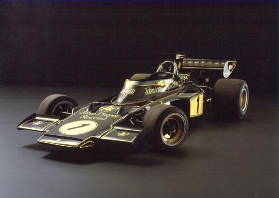 Meine ganz persönliche Erinnerung an den Rennstall Lotus ist der Lotus 72, ich begann gerade, mich für die Formel 1 zu interessieren