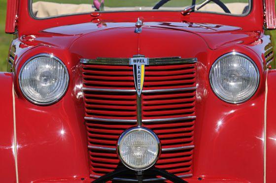 Die Front der ersten kadett-Generation findet sich auch beim Strolch wieder (Foto: Opel)