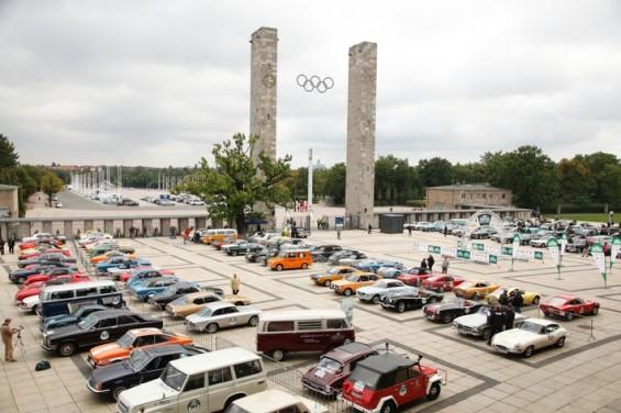 Wie 2013 startet die 8. Hamburg-Berlin-Klassik am Berliner Olympiastadion und endet am Hamburger Fischmarkt. (Foto: Auto Bild Klassik)